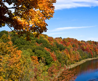 Fall Colors on the Grand River